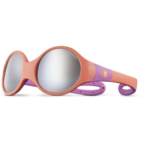 Julbo Loop L Spectron 4 Sunglasses Kids coral/rosa/grey flash silver
